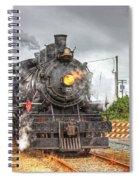 Engine 25 0040 Spiral Notebook
