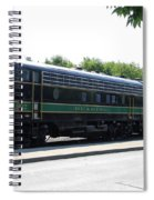 Engine 902 - Reading Lines Spiral Notebook
