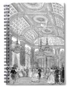 England - Royal Ball 1848 Spiral Notebook