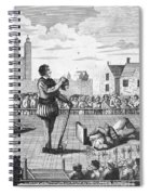 England: Beheading, 1554 Spiral Notebook