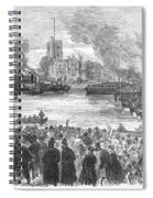 England: Boat Race, 1869 Spiral Notebook