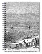 England: Brighton, 1853 Spiral Notebook