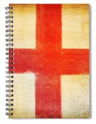 England Flag Spiral Notebook