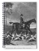 England: Fox Hunt, 1832 Spiral Notebook