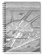 England: Hampton Court Spiral Notebook