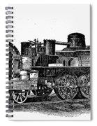 England: Locomotive, C1831 Spiral Notebook