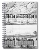 England: Railroad Travel Spiral Notebook