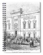 England: Theatre, 1843 Spiral Notebook