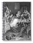 England: Village School Spiral Notebook