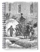 England: Winter, 1855 Spiral Notebook
