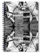 English And Western Collide Spiral Notebook
