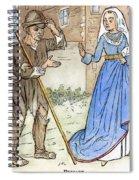 English Beggar, 1330 Spiral Notebook
