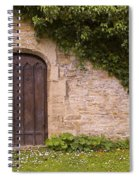 English Door And Ivy Spiral Notebook