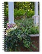 English Ivy Cascade Spiral Notebook