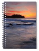Engulfed By The Sea Spiral Notebook