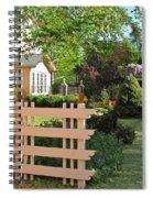 Entrance To A Victorian Garden Spiral Notebook