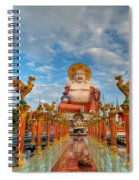 Entrance To Buddha Spiral Notebook