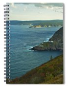 Entrance To St. John's Harbour Spiral Notebook