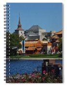 Epcot China And Norway Spiral Notebook