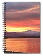 Epic August Sunset 2 Spiral Notebook
