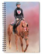 Equestrian Competition Spiral Notebook