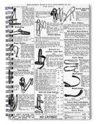 Equestrian Equipment, 1895 Spiral Notebook