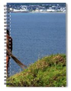 Equine View  Spiral Notebook