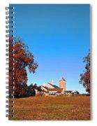 Erdenheim Farm In Autumn Spiral Notebook