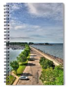 Erie Basin Marina Summer Series 0001 Spiral Notebook