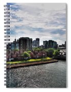 Erie Basin Marina Summer Series 0002 Spiral Notebook