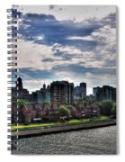Erie Basin Marina Summer Series 0005 Spiral Notebook
