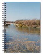 Erie Canal Panorama Spiral Notebook