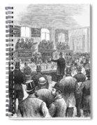 Erie Railway Auction, 1878 Spiral Notebook