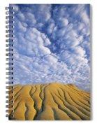 Erosion Channels On Rock, Red Deer Spiral Notebook