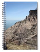 Erosion Of Glacial Drumlin Spiral Notebook