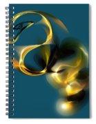 Escape 090112 Spiral Notebook
