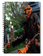 Escape From The Pumpkin Patch Spiral Notebook