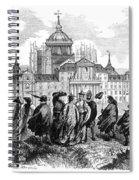 Escorial: Japanese Visitors Spiral Notebook