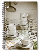 Espresso Cups Spiral Notebook