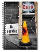 Esso Spiral Notebook