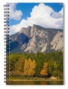 Estes Lake Autumn View  Spiral Notebook