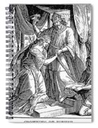 Esther & Ahasuerus Spiral Notebook