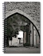 Estonia Old Town Wall Spiral Notebook