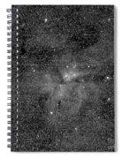 Eta Carinae Nebula, Cassini Image Spiral Notebook