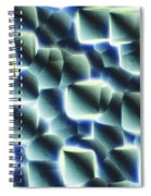Etched Silicon Wafer Spiral Notebook