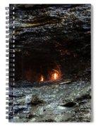 Eternal Flame Reflections Spiral Notebook