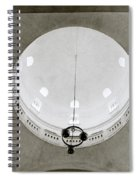 Ethereal Light Spiral Notebook