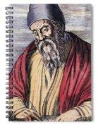 Euclid, Ancient Greek Mathematician Spiral Notebook