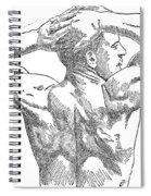 Eugene Sandow (1867-1925) Spiral Notebook