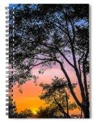 Eureka Sunset Spiral Notebook